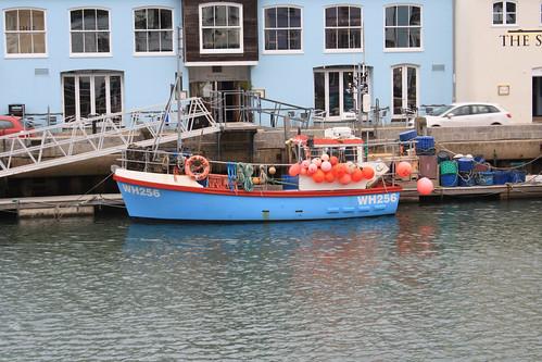 Fishing Boat WH256 SARAH LOUISE Weymouth