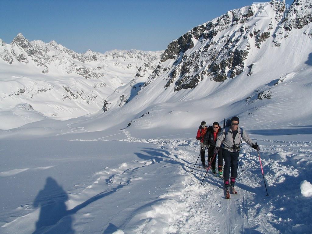 Vordere/Hintere Jamspitze NW Silvretta Austria photo 01