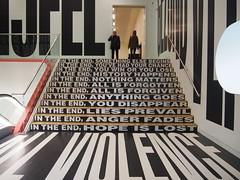 Barbara Kruger - Past, Present & Future 2002, at the Stedelijk Gallery, Amsterdam