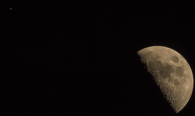 Conjuncion Luna-Saturno