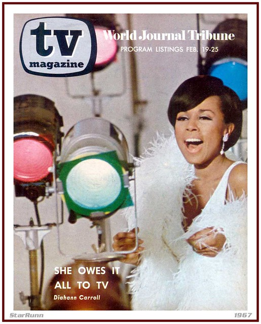 TV Magazine - Diahann Carroll - February 19-25, 1967