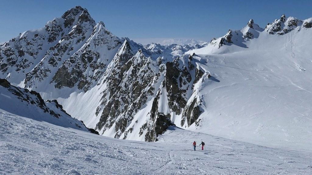 Vordere/Hintere Jamspitze NW Silvretta Austria photo 05