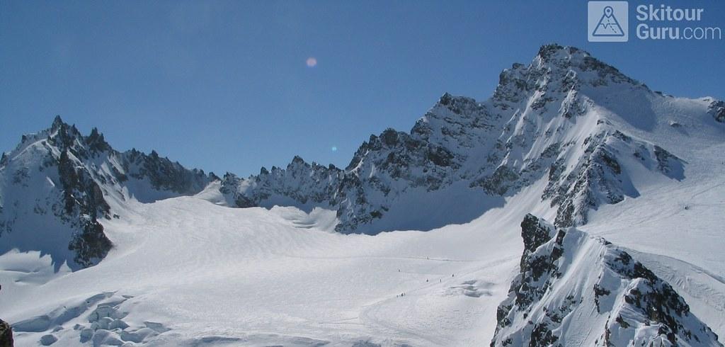 Vordere/Hintere Jamspitze NW Silvretta Rakousko foto 04