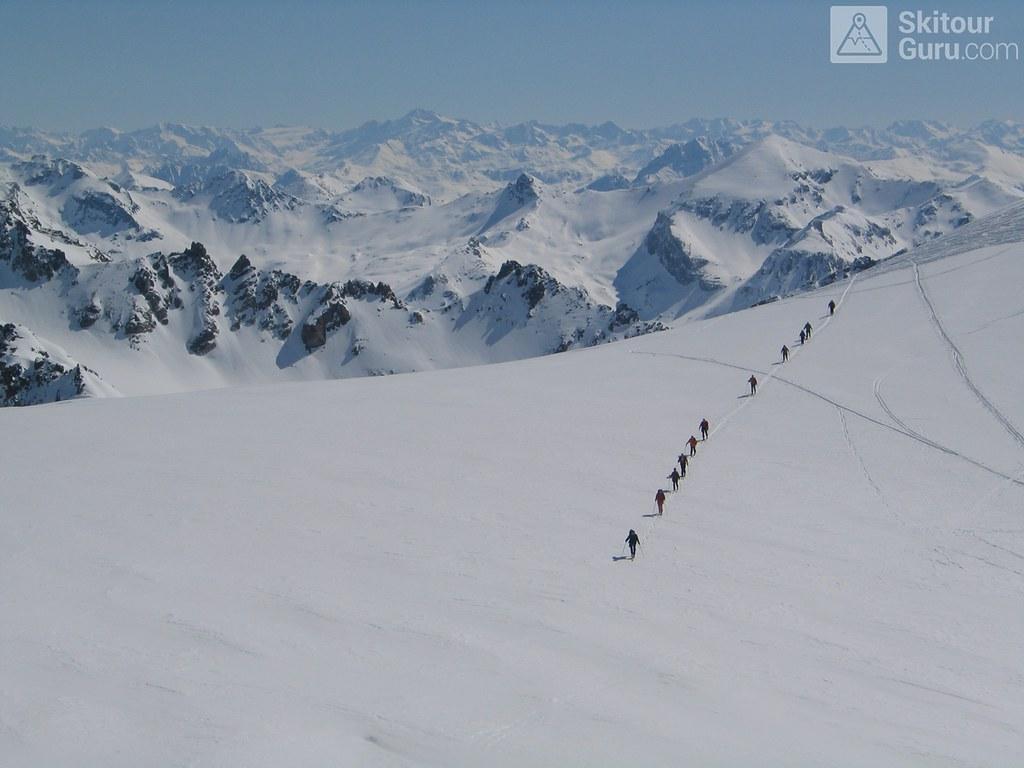 Vordere/Hintere Jamspitze NW Silvretta Rakousko foto 03