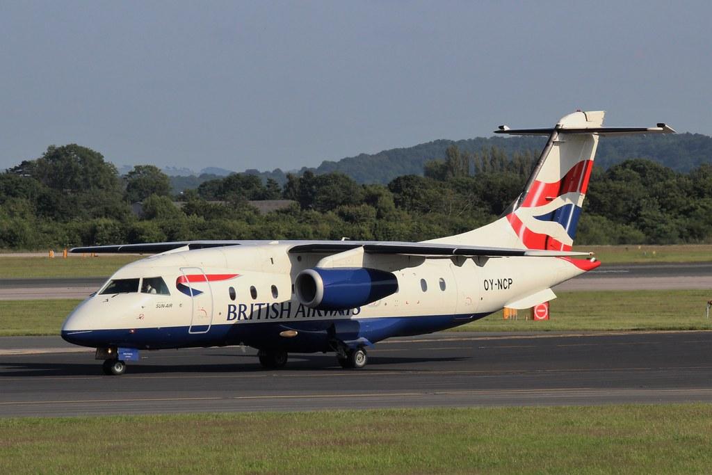 Sun Air Dornier 328Jet OY-NCP