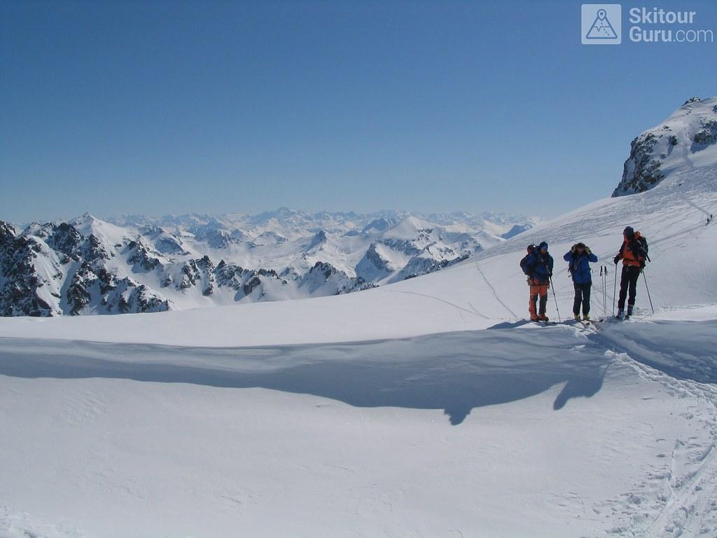 Vordere/Hintere Jamspitze NW Silvretta Rakousko foto 02