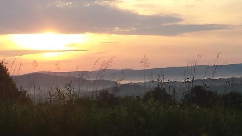 sunrise amenia newyork mountains hills summer