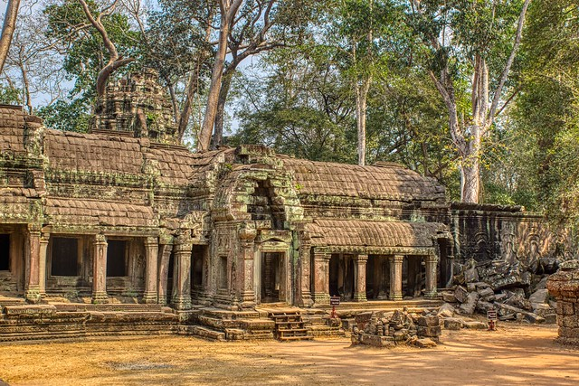 Ruins of Ta Prohm a.k.a. Jungle Temple near Siem Reap, Cambodia