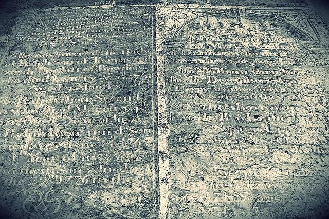 18th Century Graves
