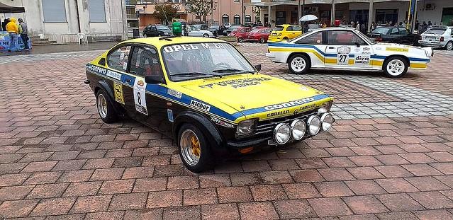 Opel Kadett 1900 GTE Gr. 4 e Opel Manta 400 Gr. B