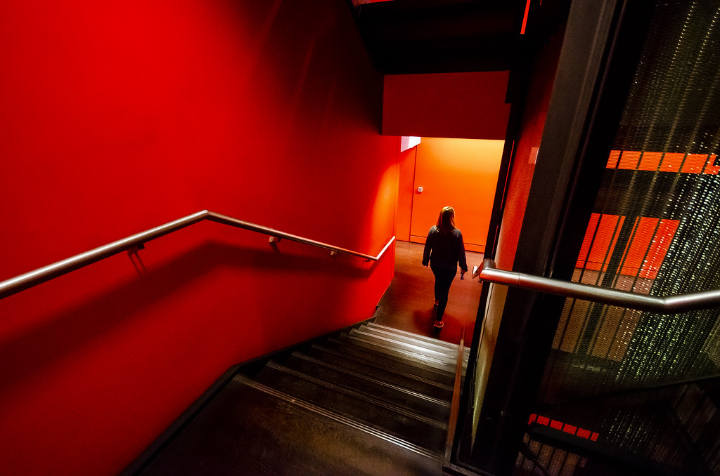 Within the Red Stairs