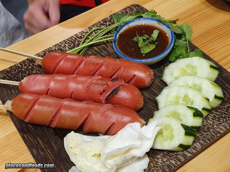 thai tae sausage