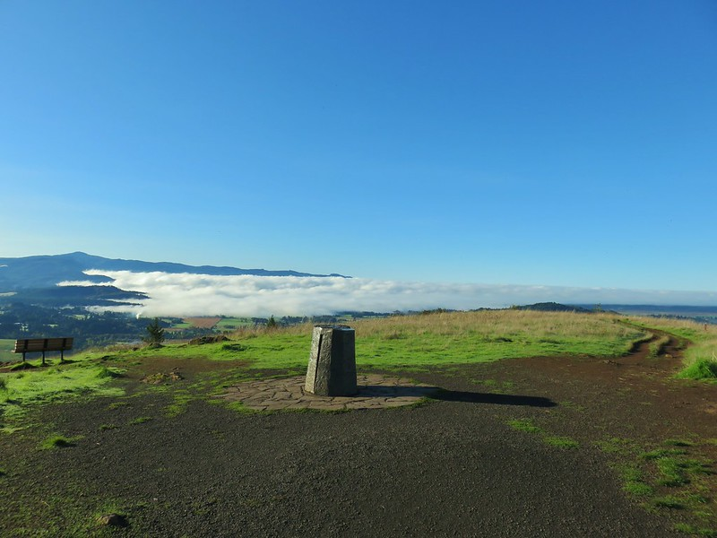 Summit of Mt. Pisgah