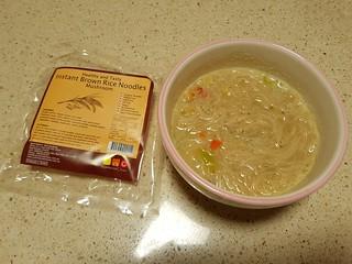 Instant Brown Rice Mushroom Noodles