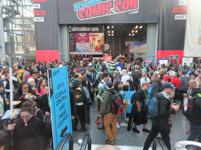 2019 NYC Comic Con Friday Jacob Javits Center 4542