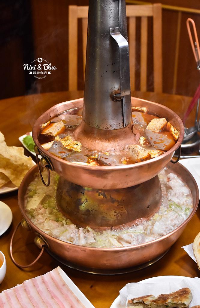 徠圍爐北方風味館 酸菜白肉鍋 菜單23