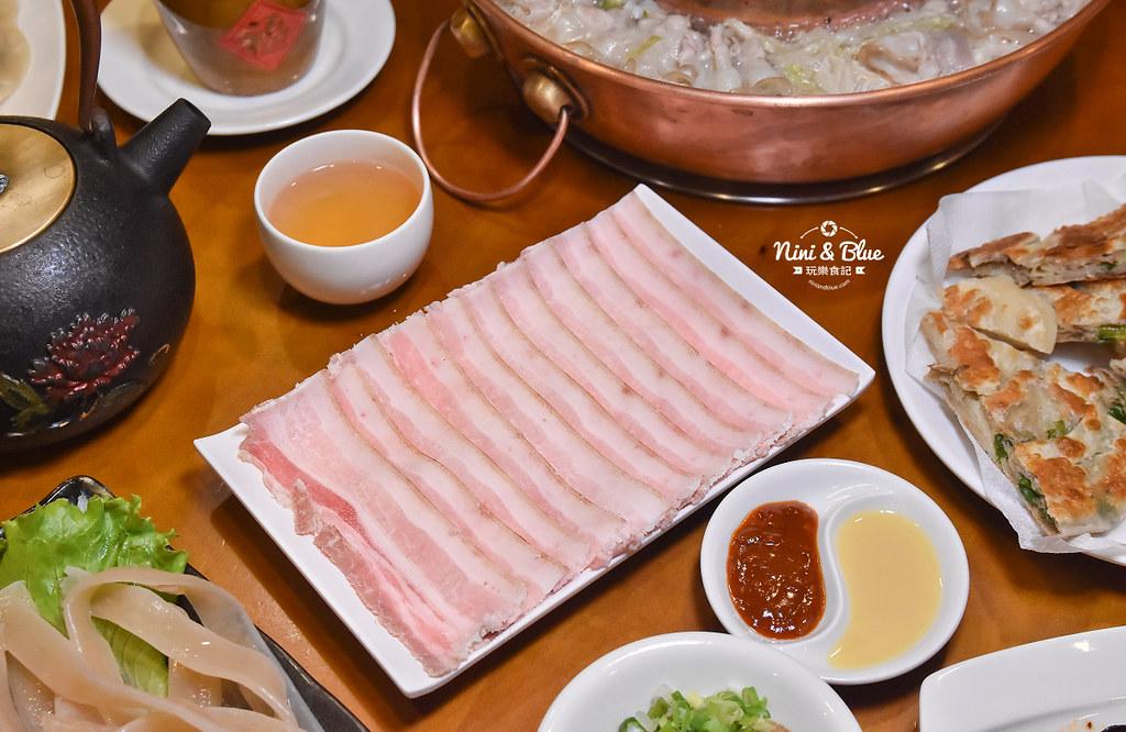 徠圍爐北方風味館 酸菜白肉鍋 菜單22