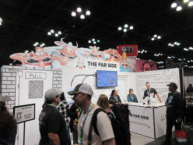 2019 NYC Comic Con Return of The Far Side Booth 4500