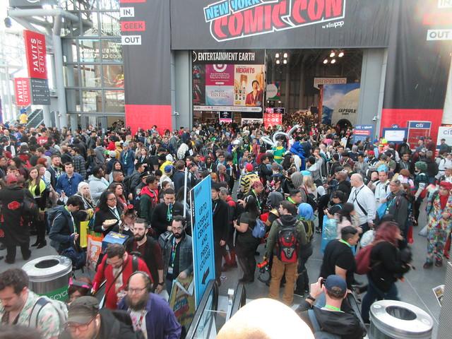 2019 NYC Comic Con Friday Jacob Javits Center 4540