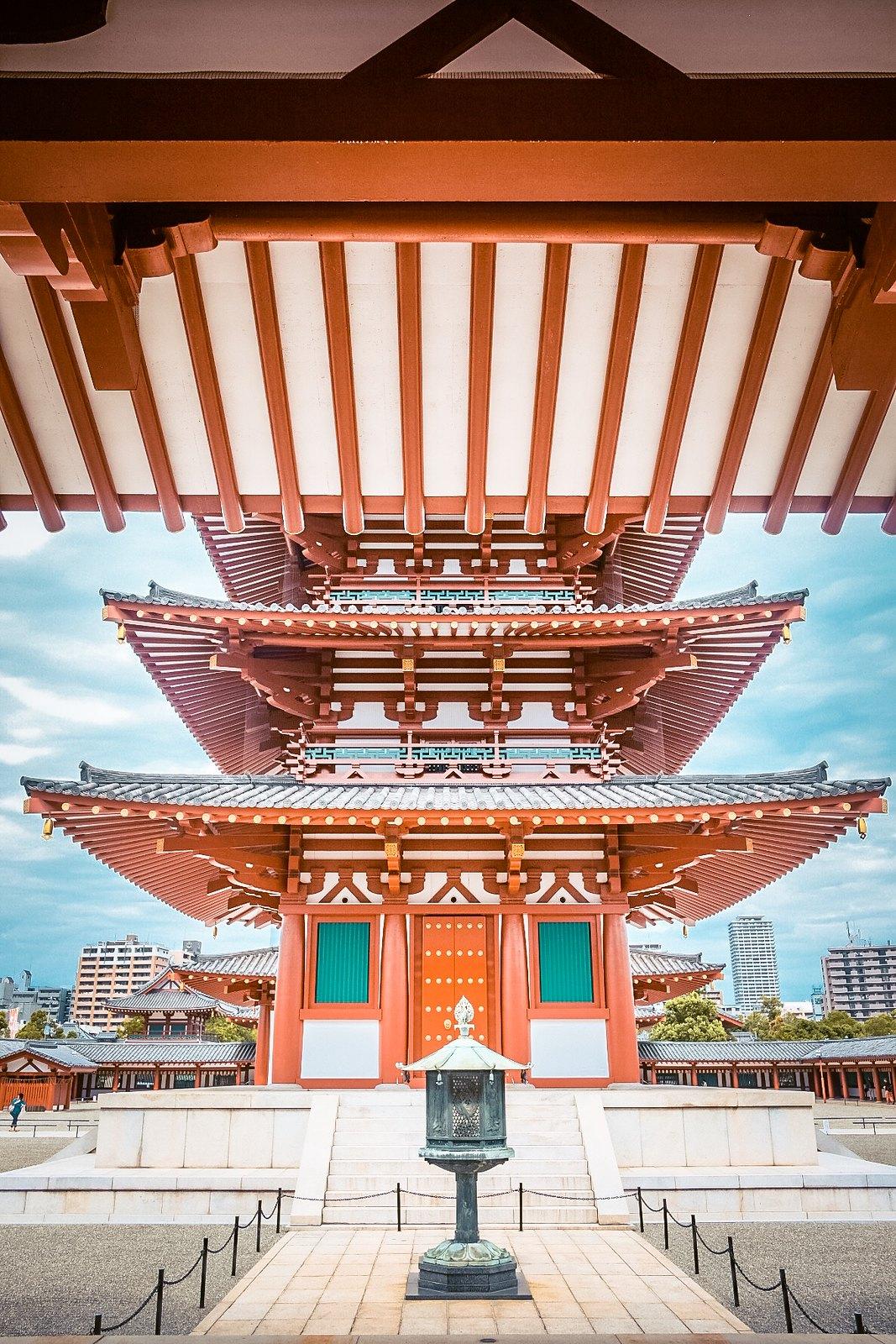 Shitennoji Temple | Osaka Itinerary