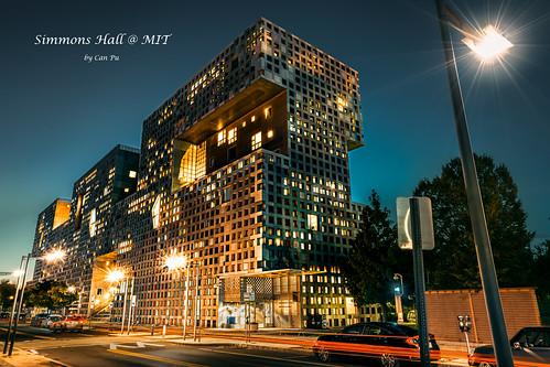 The Simons Hall of MIT