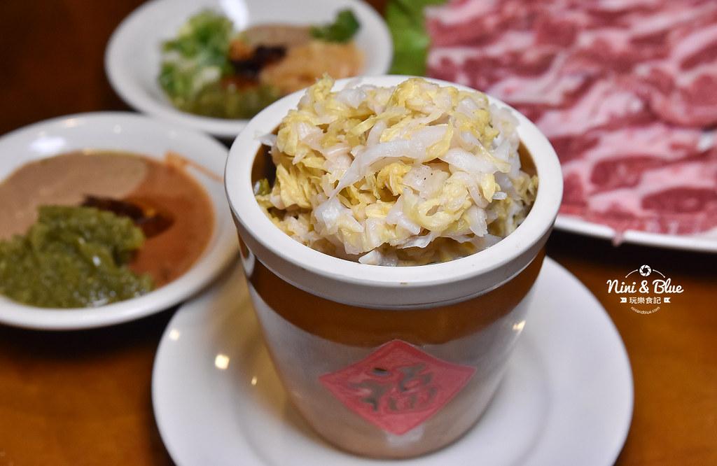 徠圍爐北方風味館 酸菜白肉鍋 菜單04