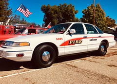 1997 Ford Crown Victoria Police Interceptor - Ex Salinas, Calif Fire Department