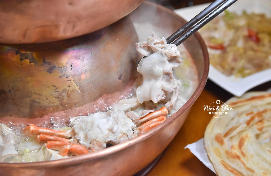 徠圍爐北方風味館 酸菜白肉鍋 菜單25