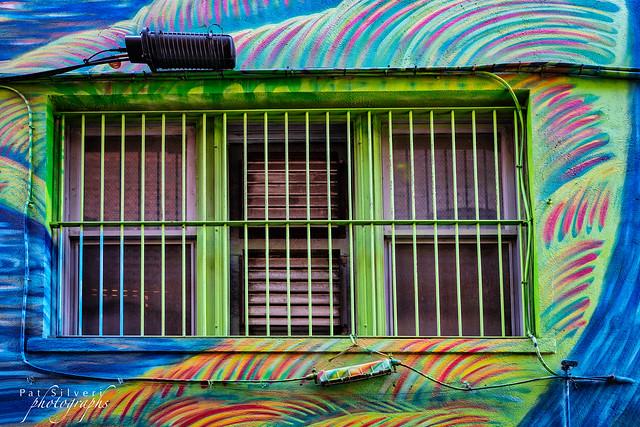 Three Windows in the Mural
