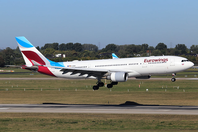 Eurowings  Airbus A330-203 D-AXGB