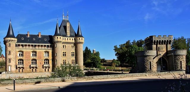 Château de la Clayette, Bourgogne-Franche-Comté
