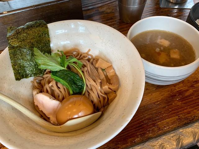 啜磨専科   昔ながらの塩つけ麺 (Japanese Dipping Noodles)