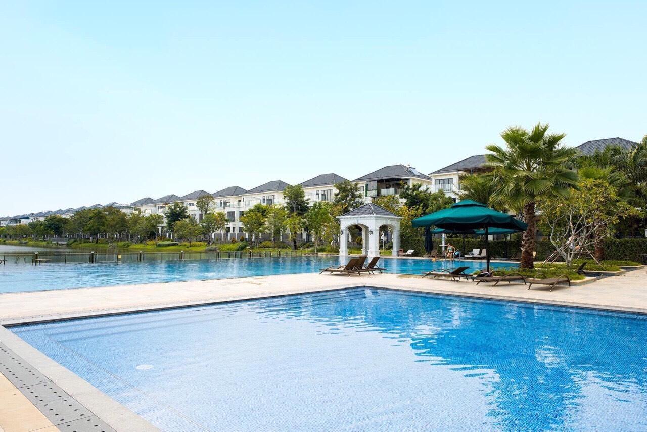 Hồ sinh thái Aqua City rộng 3.6 ha