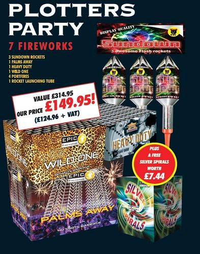 Plotters Party 1.3G DIY Firework Pack #EpicFireworks