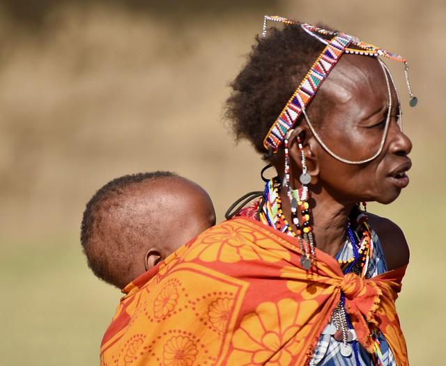 Maasai lady