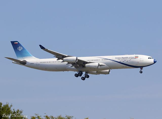 Islamic Republic of Iran A340-300 EP-IGA