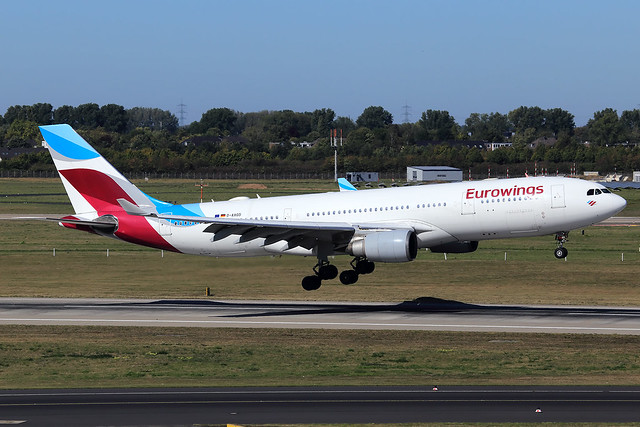 Eurowings  Airbus A330-203 D-AXGD