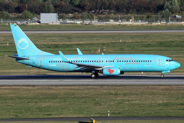 SunExpress Germany  Boeing 737-8HX D-ASXO