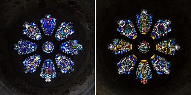 Rose Windows, St. David's Cathedral, Pembroke