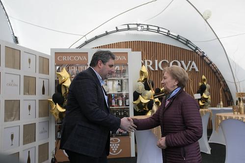06.10.2019 Președintele Parlamentului Zinaida Greceanîi a participat la Ziua Națională a Vinului