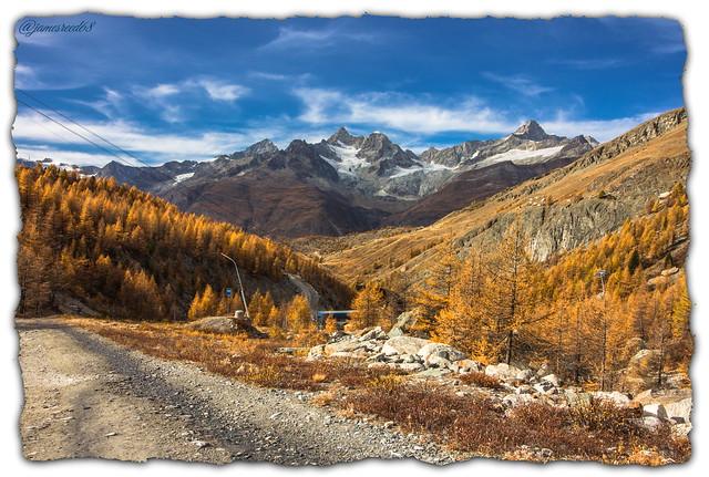 Arrêt de téléphérique Blauherd - Zermatt - Suisse