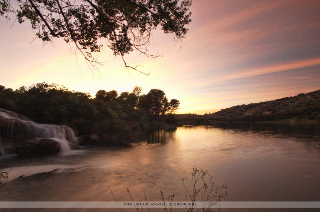 Puesta de Sol en Las Lagunas de Ruidera