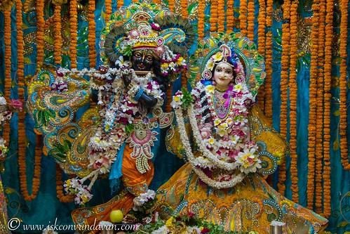 ISKCON Vrindavan Deity Darshan 06 Oct 2019