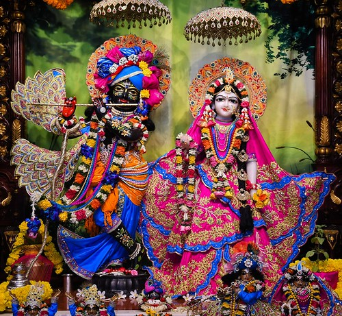 Hare Krishna Temple Ahmedabad Deity Darshan 06 Oct 2019
