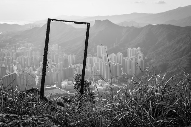 On Top of the Hill, Hong Kong Hiking