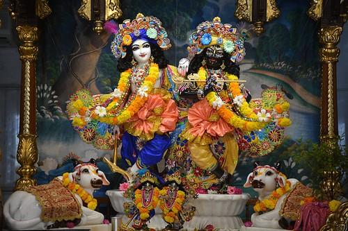 ISKCON Ujjain Deity Darshan 06 Oct 2019