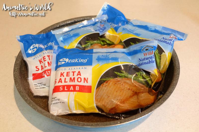 Seaking Alaskan Keta Salmon