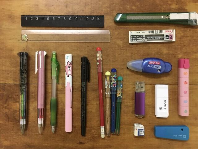 筆袋裡有什麼?