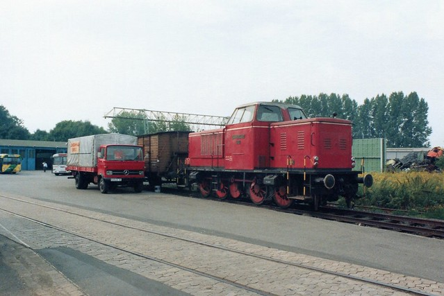 Ilmebahn: V 601 im Bw Einbeck Mitte