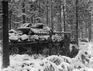 M10 tank destroyer 20th January 1945.